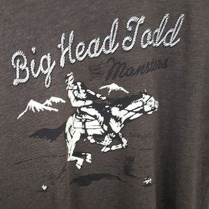 Next Level Apparel Shirts - Men's Big Head Todd & The Monsters Large